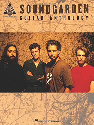 Soundgarden Guitar Anthology (Guitar Recorded Versions)
