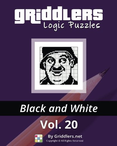 Griddlers Logic Puzzles: Black And White (Volume 20)