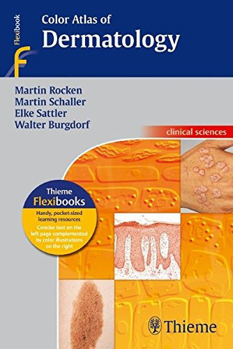 Color Atlas Of Dermatology (Thieme Flexibooks)