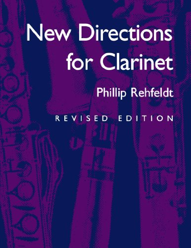 New Directions For Clarinet (The New Instrumentation Series)