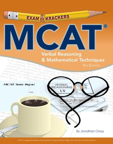 Mcat Verbal Reasoning & Mathematical Techniques (Examkrackers)