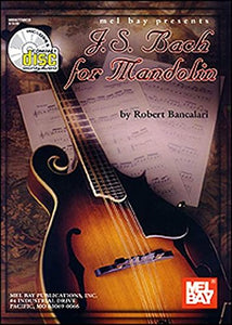 Mel Bay J. S. Bach For Mandolin