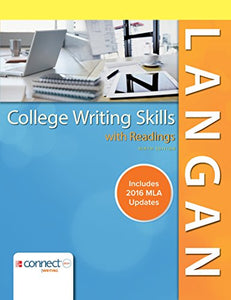 College Writing Skills With Readings Mla 2016 Update