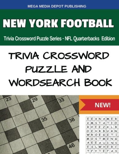 New York Football Trivia Crossword Puzzle Series - Nfl Quarterbacks Edition