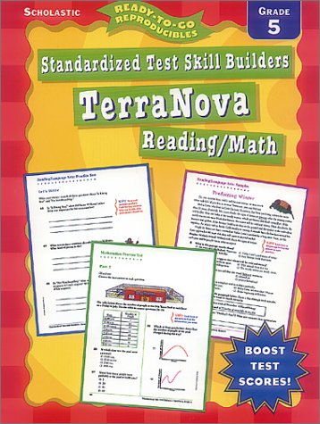 Standardized Test Skill Builders Terranova, Grades 5: Ready-To-Go Reproducibles : Grade 5