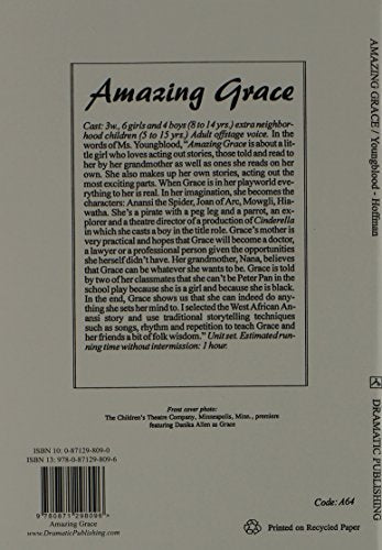Amazing Grace--A Play In One Act
