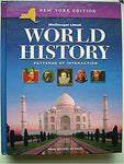 Mcdougal Littell World History: Patterns Of Interaction New York: Student Edition Grades 9-12 2005