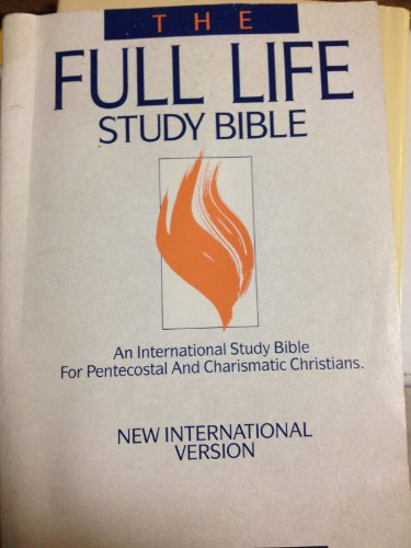 The Full Life Study Bible: New International Version: The New Testament