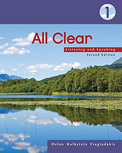 All Clear 1: Listening And Speaking, 2Nd Edition