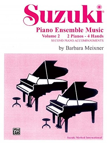 Suzuki Piano Ensemble Music For Piano Duo, Vol 2: Second Piano Accompaniments (Suzuki Piano School)