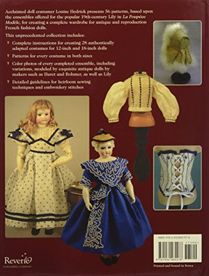 A French Fashion Doll'S Wardrobe