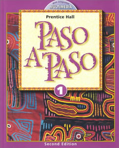 Paso A Paso 2000 Student Edition Level 1 Second Edition