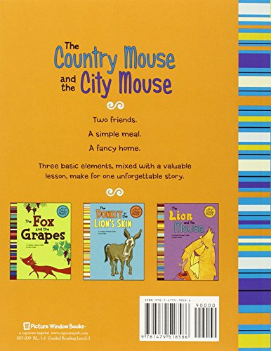 The Country Mouse And The City Mouse: A Retelling Of Aesop'S Fable (My First Classic Story)