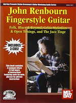 John Renbourn Fingerstyle Guitar Book/3-Cd Set