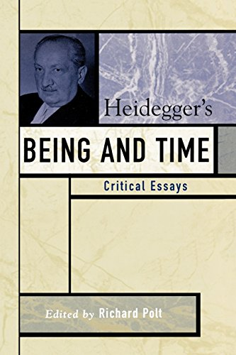 Heidegger'S Being And Time: Critical Essays (Critical Essays On The Classics Series)