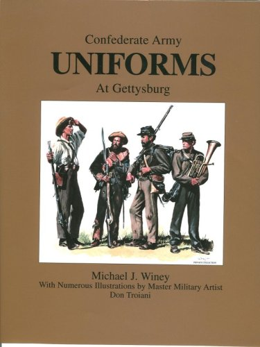 Confederate Army Uniforms At Gettysburg