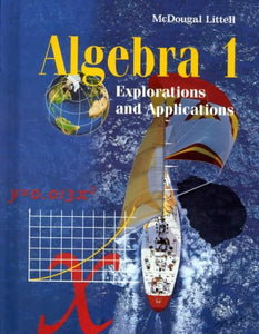 Mcdougal Littell Explorations And Applications: Student Edition Algebra 1 1998