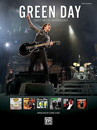Green Day Sheet Music Anthology: Easy Piano