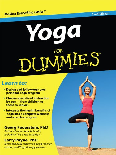 Yoga For Dummies (Thorndike Large Print Health, Home And Learning)