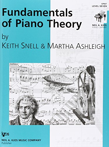Gp667 - Fundamentals Of Piano Theory - Level 7