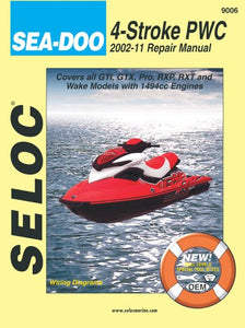 Sea-Doo Personal Watercraft, 2002-11 Repair Manual All 4-Stroke Models (Seloc Marine Manuals)