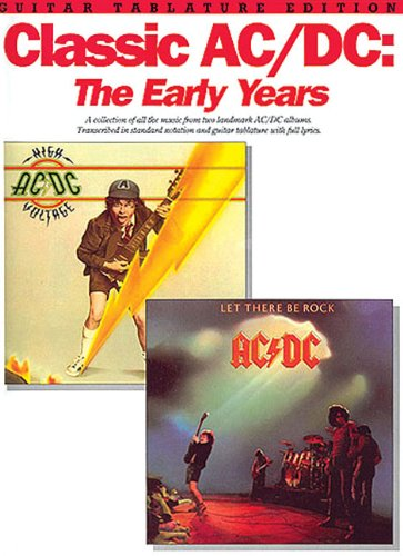 Classic Ac/Dc: Early Years Guitar Tab