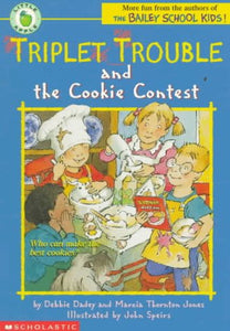 Triplet Trouble And The Cookie Contest