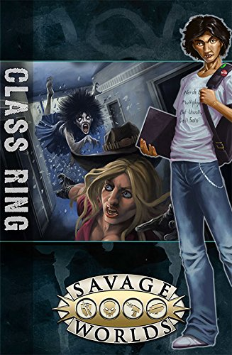 East Texas University: Gm Screen With Class Ring Adventure (Savage Worlds, S2P10312)