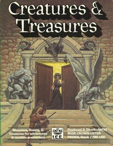 Creatures And Treasures (Rolemaster #1400)