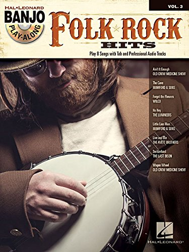 Folk/Rock Hits: Banjo Play-Along Volume 3