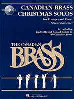 The Canadian Brass Christmas Solos For Trumpet And Piano Intermediate Level