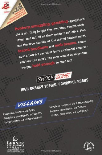 Gangsters, Bootleggers, And Bandits (Shockzone - Villains)