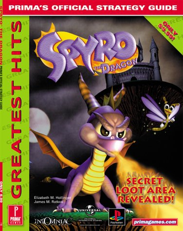 Spyro The Dragon: Prima'S Official Strategy Guide