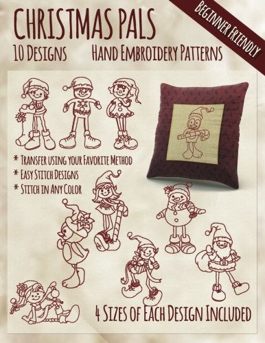 Christmas Pals Hand Embroidery Patterns