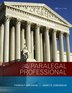 The Paralegal Professional (5Th Edition)
