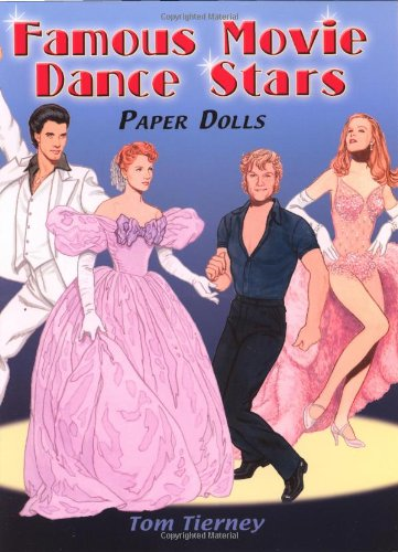Famous Movie Dance Stars Paper Dolls (Dover Celebrity Paper Dolls)