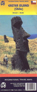Easter Island (Chile) 1:30,000 Visitor'S Map (International Travel Maps)