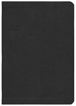 Esv Study Bible - To Understand The Bible In A Deeper Way / Black Genuine Leather, Golden Edges