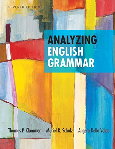 Analyzing English Grammar Plus Mylab Writing -- Access Card Package (7Th Edition)