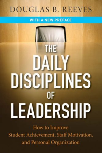 Daily Disciplines Of Leadership: Book (Soft Cover)