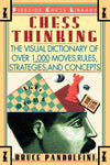 Chess Thinking: The Visual Dictionary Of Chess Moves, Rules, Strategies And Concepts (Fireside Chess Library)