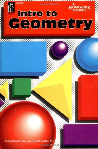 Introduction To Geometry Homework Booklet, Grades 5 To 8 (Homework Booklets)