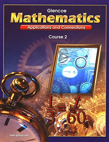 Mathematics (Applications And Connections, Course 2)
