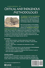 Handbook Of Critical And Indigenous Methodologies