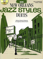 More New Orleans Jazz Styles Duets - Book/Cd: Early Intermediate Level