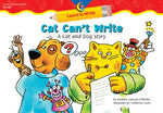 Cat Can'T Write: A Cat And Dog Story Learn To Write Reader