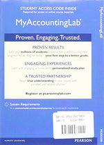 Myaccountinglab With Pearson Etext -- Access Card -- For Financial Accounting