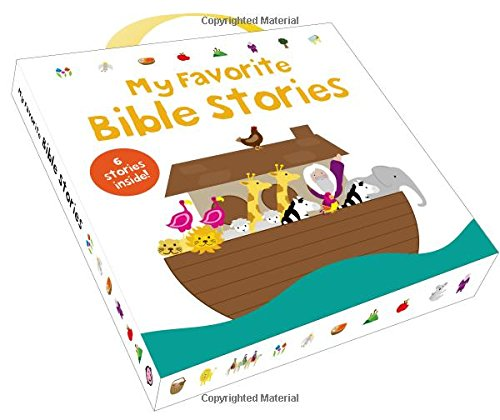 My Favorite Bible Stories: Noah'S Ark, The Miracles Of Jesus, The Birth Of Jesus, The Story Of Easter, The Story Of Moses, The Story Of Creation
