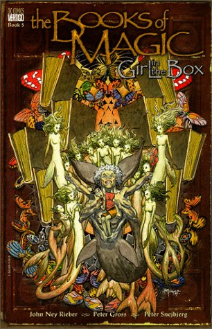 Books Of Magic: The: Girl In The Box - Book 5
