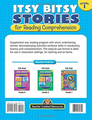 Itsy Bitsy Stories For Reading Comprehension Grd 1